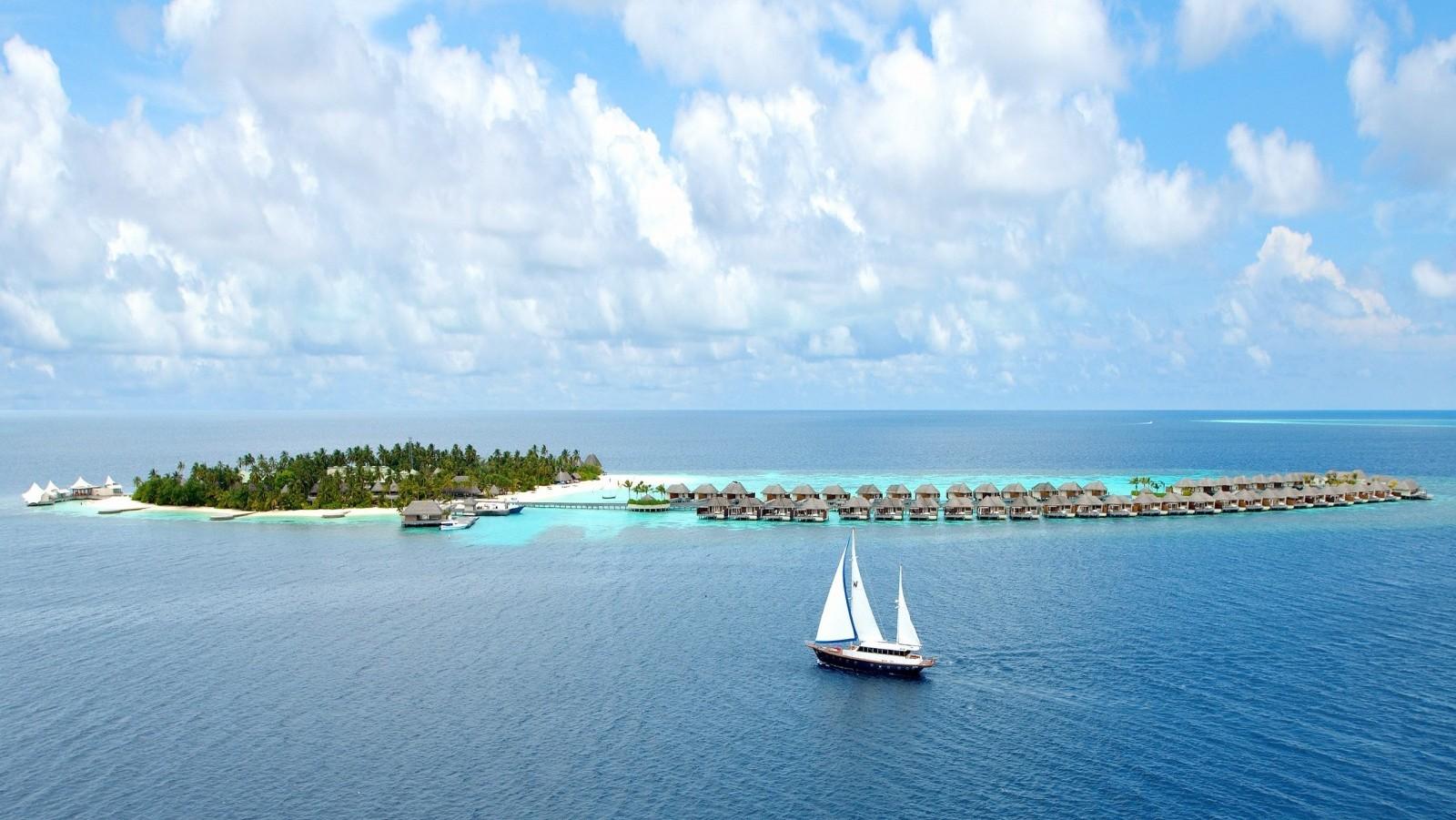 Яхтинг на Мальдивах