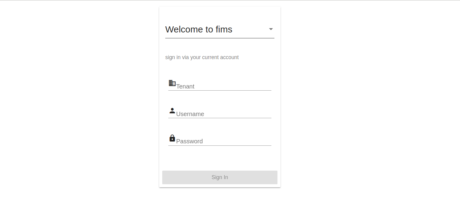 The Sign-In Page - Fineract - Apache Software Foundation