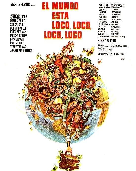 El mundo esta loco, loco, loco (1963, Stanley Kramer)