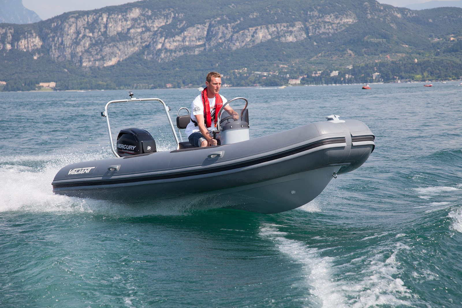 cruising on a valiant rib