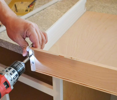 kitchen cabinet metal drawer sides - kitchen design ideas
