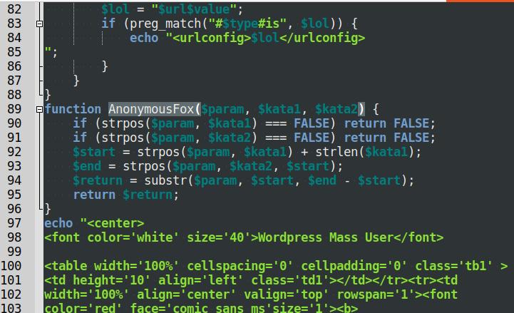 AnonymousFox hacking tool