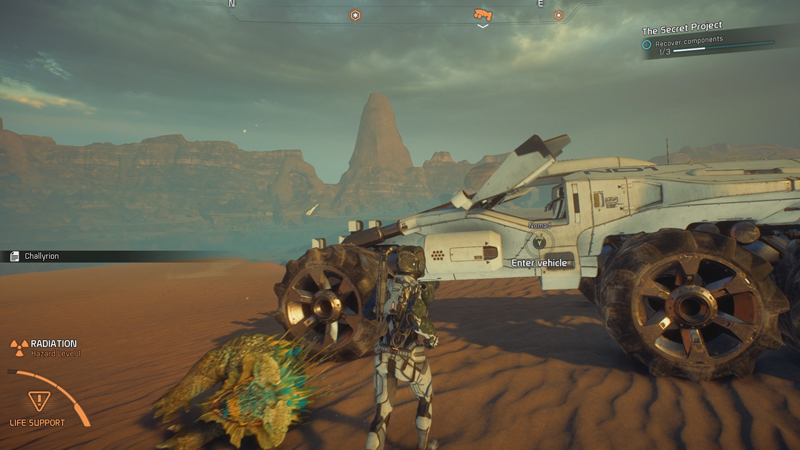 Mass Effect: Andromeda Nomad Guide - Survive Radiation Inside the Vehicle