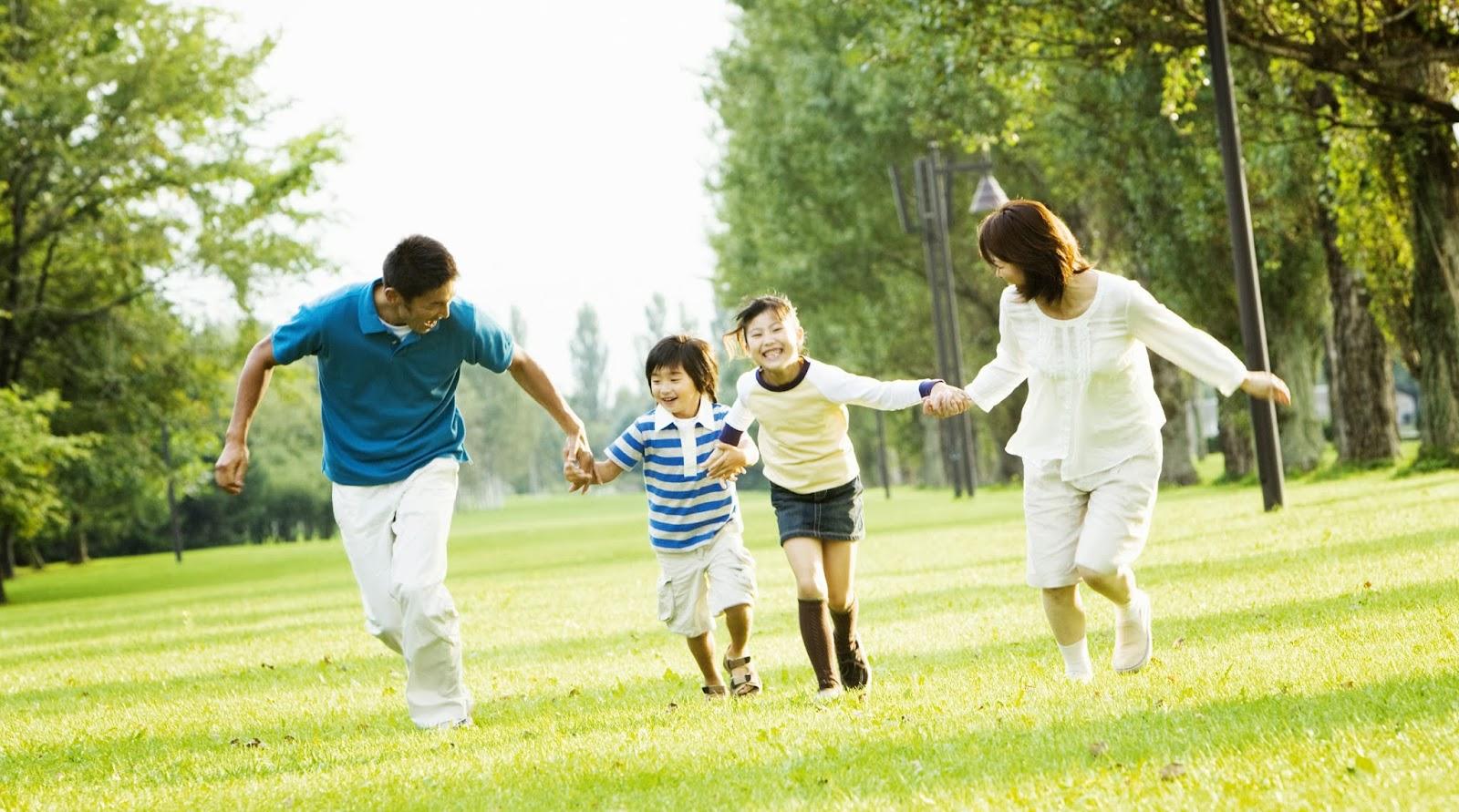 Hạnh phúc gia đình đơn giản chỉ là những điều dù là rất nhỏ xung quanh chúng ta.