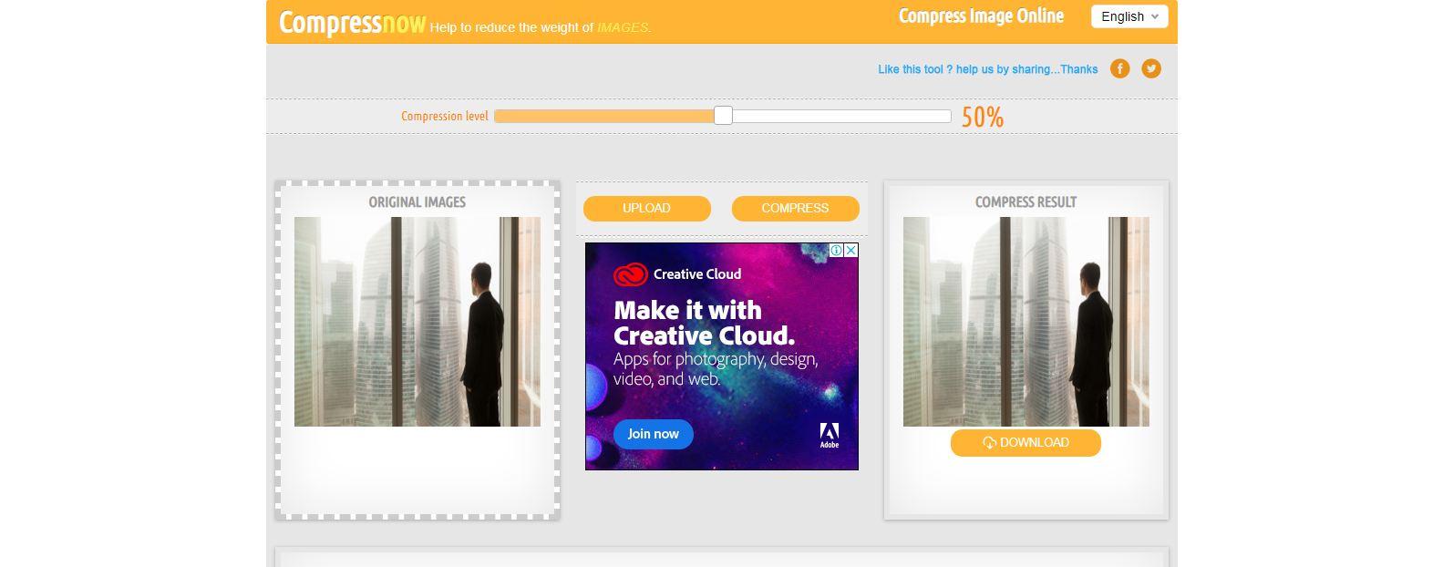Compressnow image compression tools