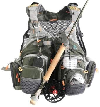 Maxcatch Fly Fishing Vest Pack.