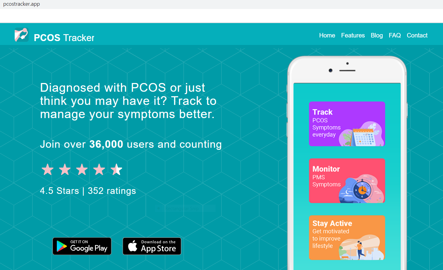 pcostracker.app website