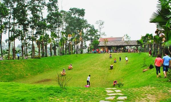 Khu sinh thái Vườn Vua Phú Thọ điểm du lịch cuối tuần chuẩn 4 sao