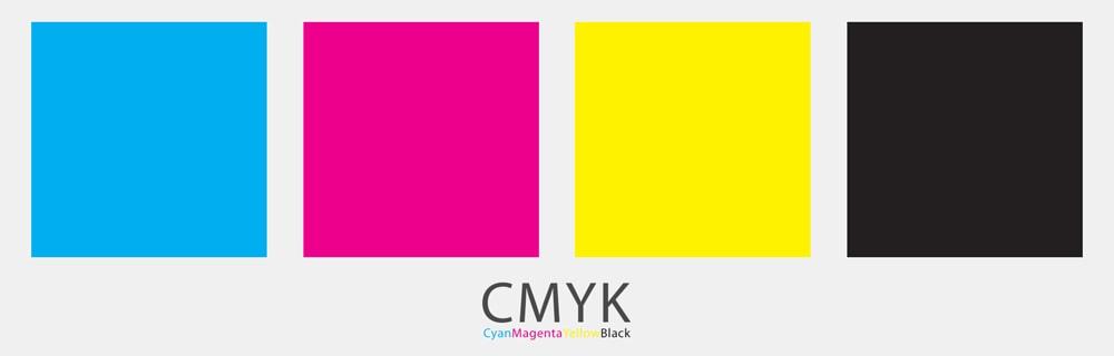 Pantone màu trong ngành in ấn được pha trộn từ 4 màu chủ đạo
