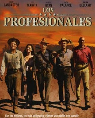 Los profesionales (1966, Richard Brooks)