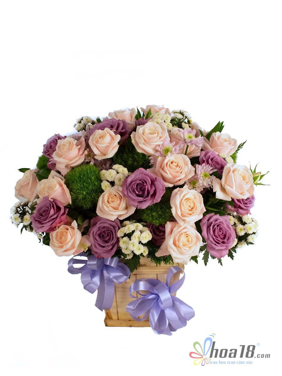 hoa tặng ngày 8 tháng 3