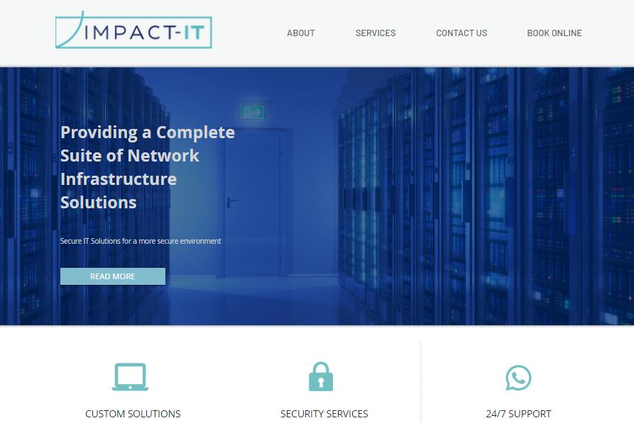 The Impact IT website