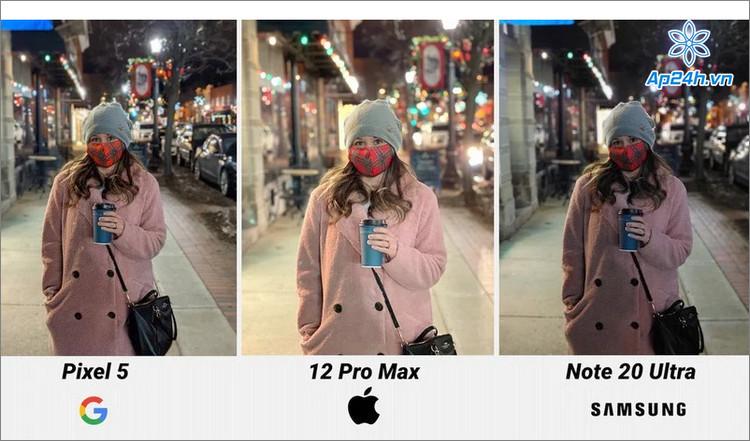 Một lần nữa iPhone 12 Pro Max thể hiện khả năng chụp ảnh thiếu sáng tuyệt vời