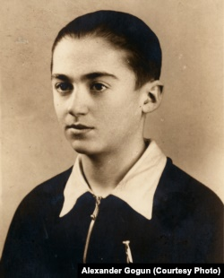 Бенек Лібляйн відразу після війни