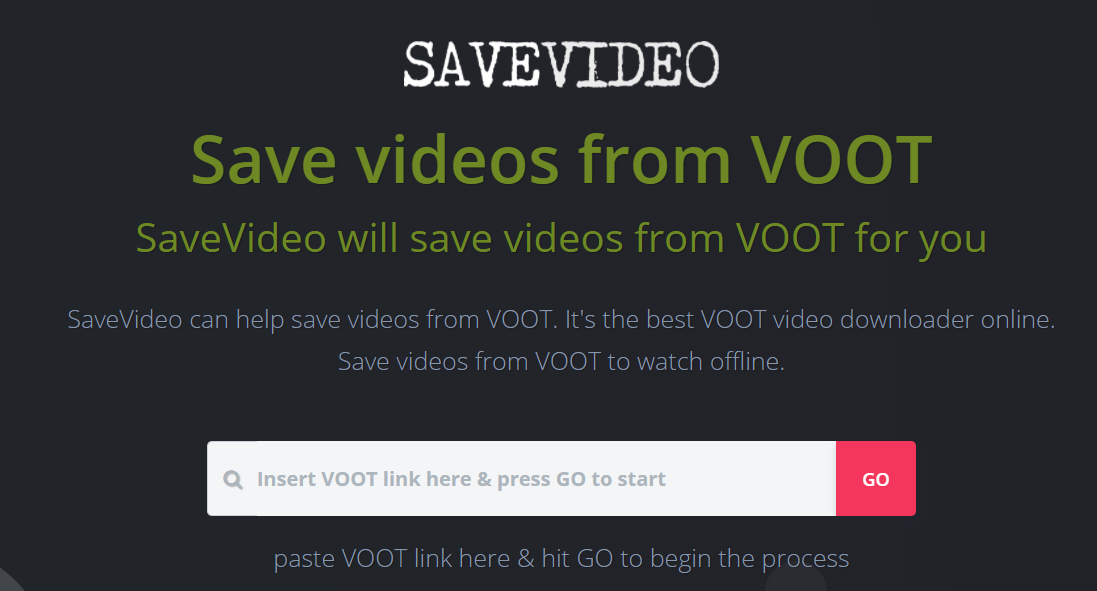 Voot Video Downloader