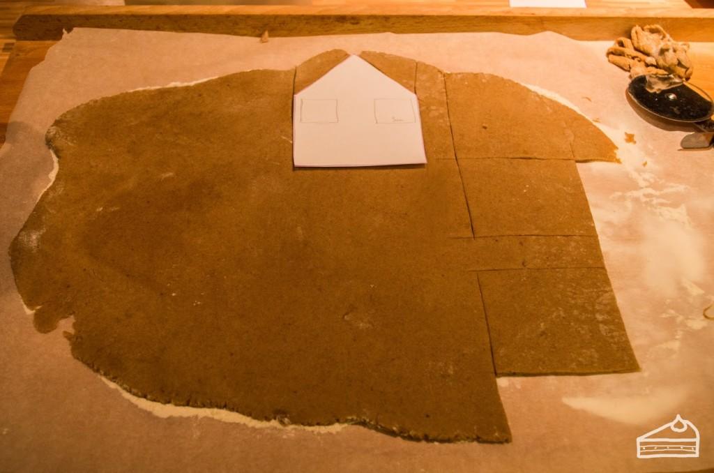 Mézeskalács házikó készítése 4