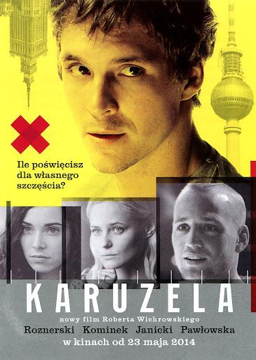 Przód ulotki filmu 'Karuzela'