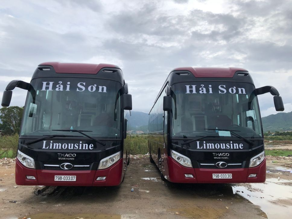 Xe Hải Sơn từ Nha Trang đi Đà Nẵng