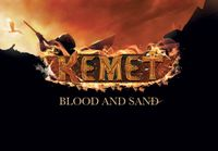 Cover of board game Kemet: Blood and Sand one my most anticipated games of 2020