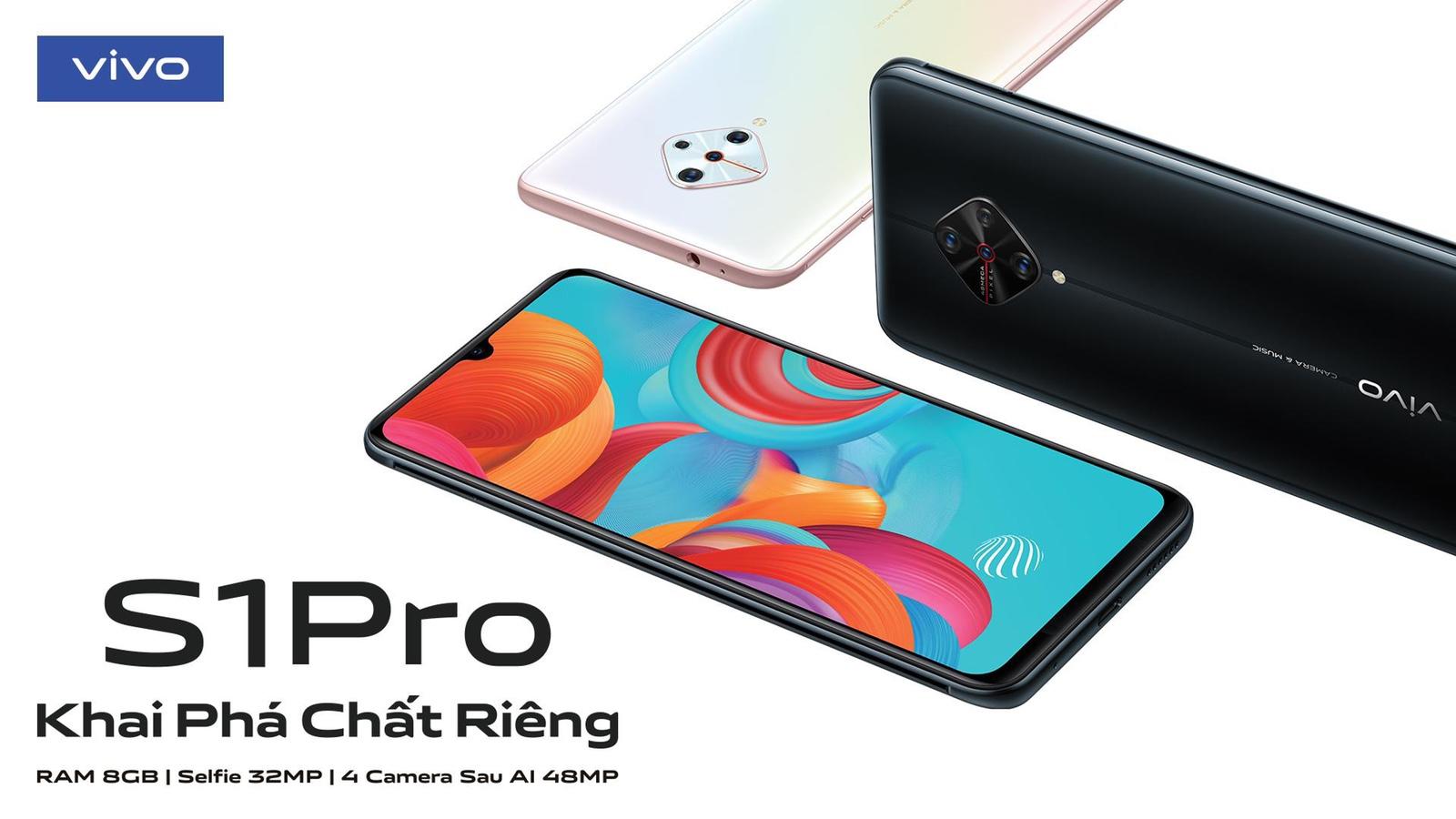 """Vivo S1 Pro đồng hành cùng người dùng trẻ """"Khai phá chất riêng"""