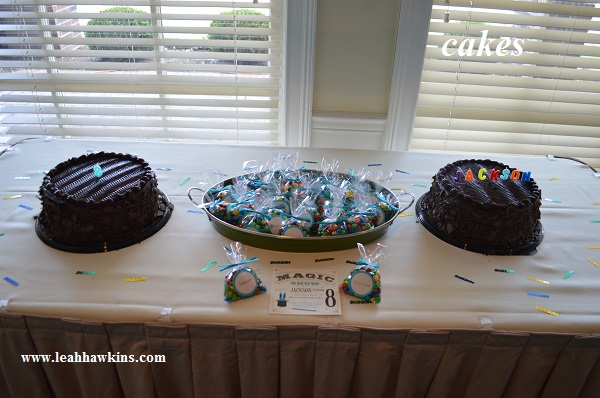 birthday party cakes