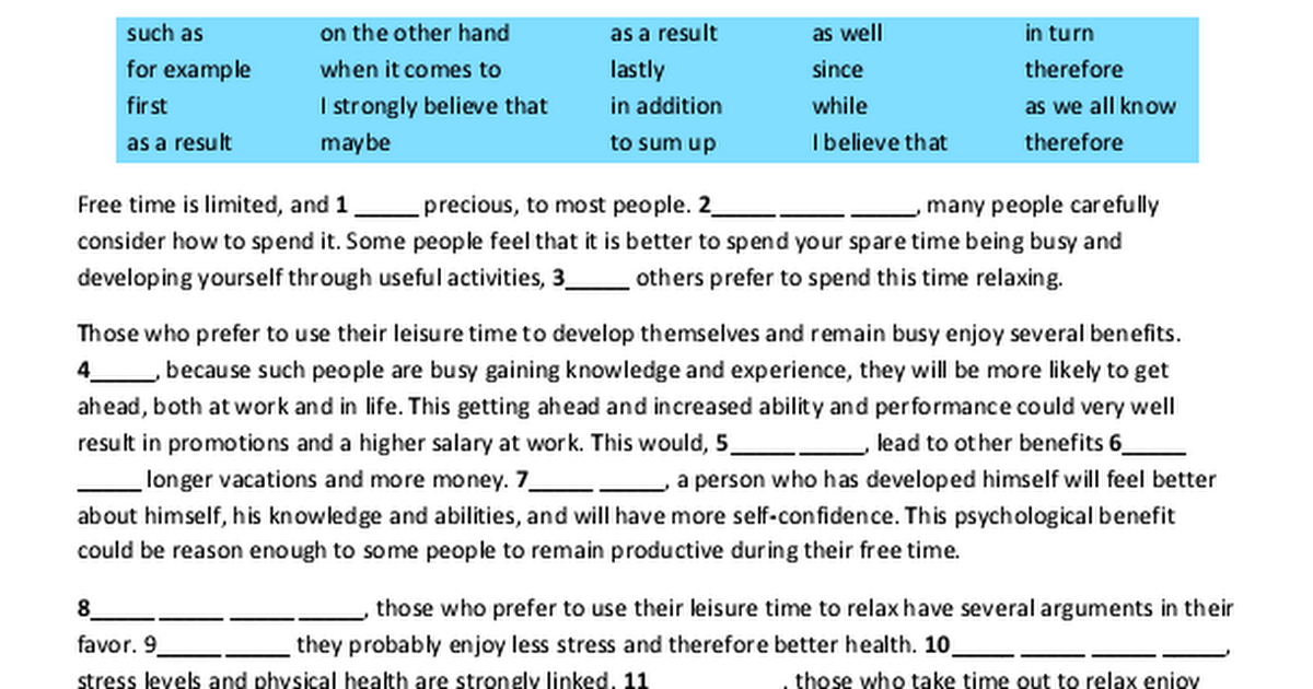 personal experience essay compare and contrast