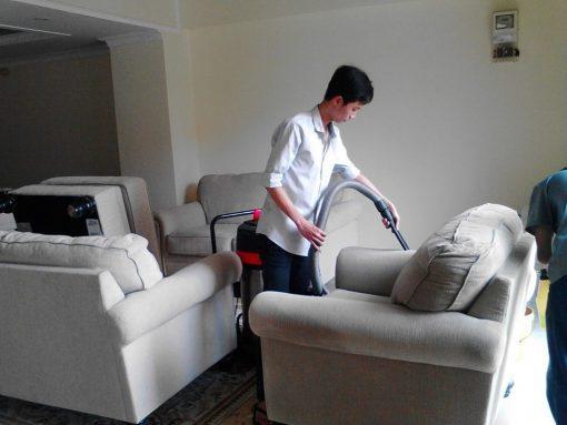 Dịch vụ giặt sofa tại nhà