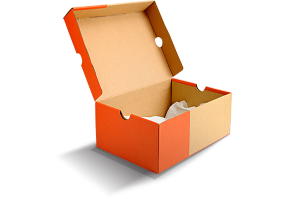hộp giấy đựng giày carton 3 lớp