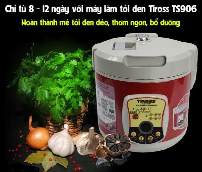 Cách làm tỏi đen bằng máy Tiross TS906