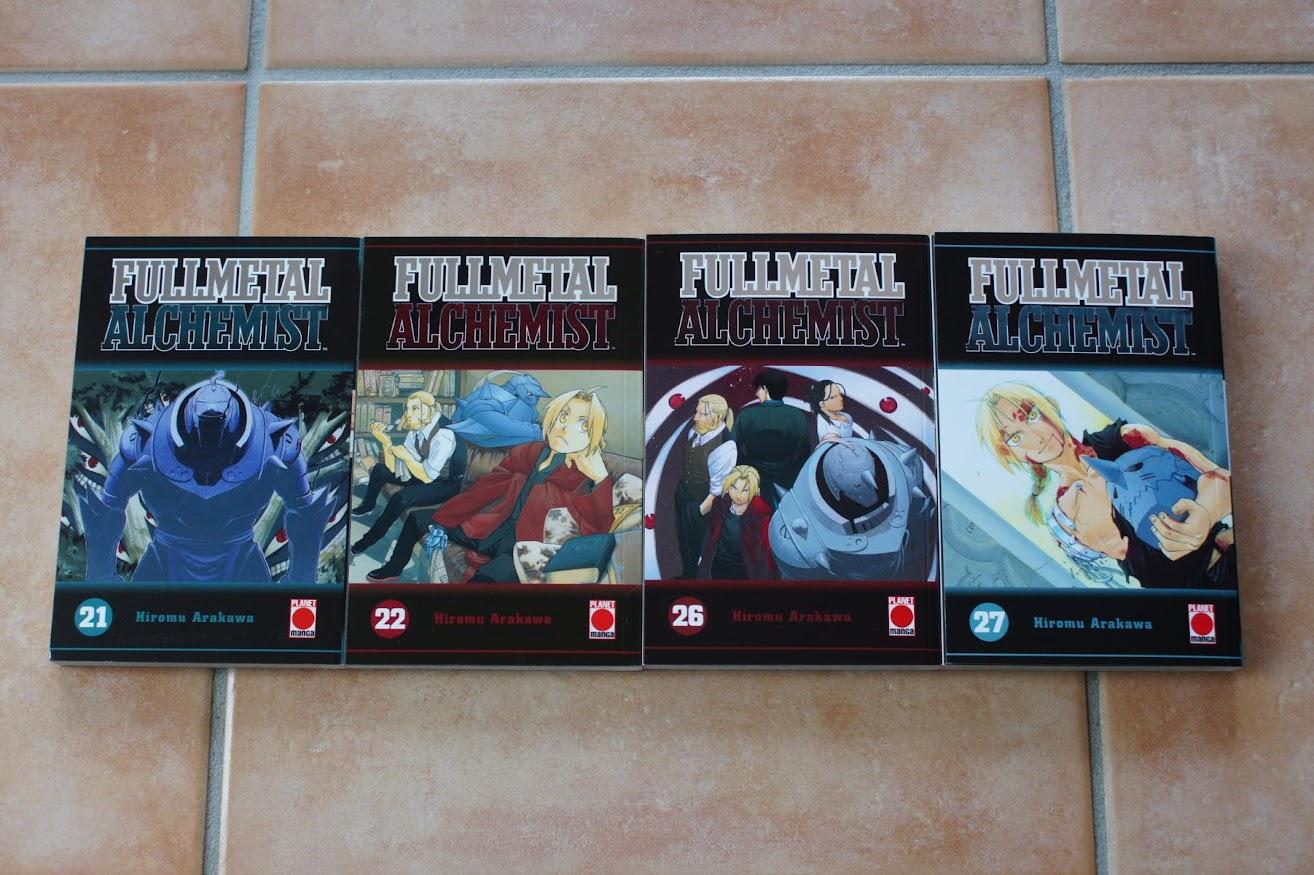 Planet Manga Fullmetal Alchemist 21 22 26 27
