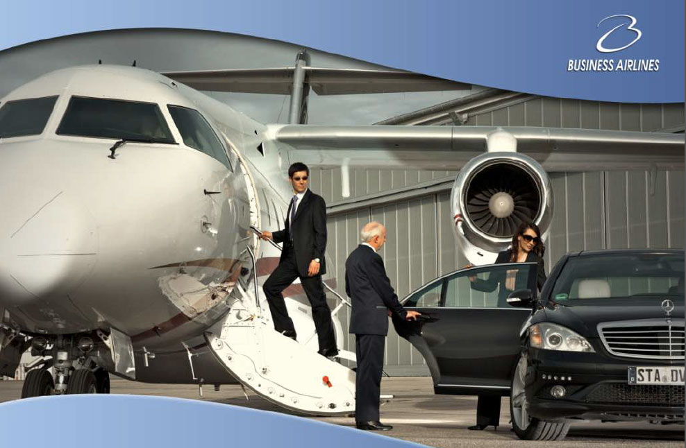Business airlines catalogue