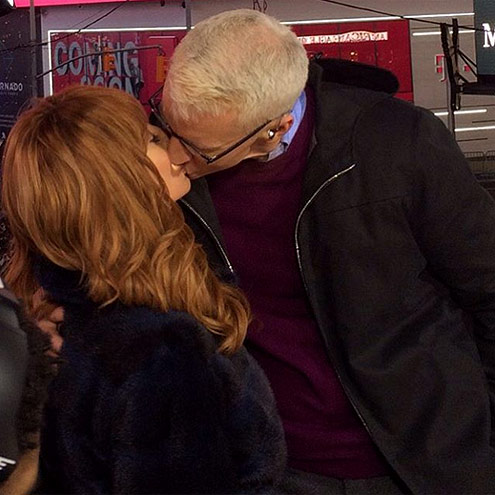 KATHY GRIFFIN & ANDERSON COOPER