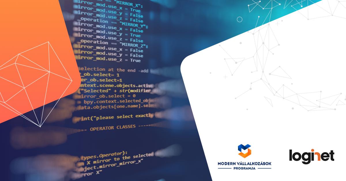 GINOP PLUSZ 1.2.1-21 pályázat - Webshop fejlesztés állami támogatással, a LogiNet minősített webshop termékével