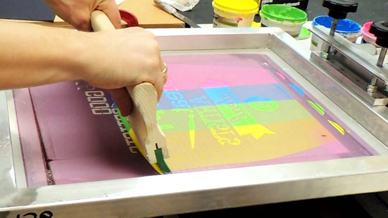 Sablon cetak saring