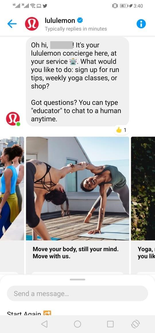 Shorten Sales Cycle Example #3 Lululemon | 4 Ways to Shorten Your Sales Cycle