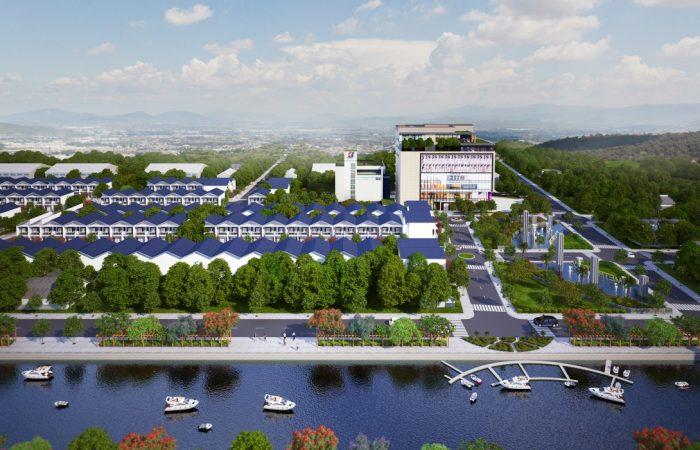 Các dự án đô thị trong đô thị có tiềm năng đầu tư và sinh lời ổn định (Ảnh: Dự án KDC Metro City Đức Hòa Long An)