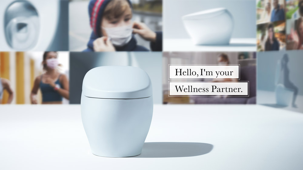 Toto wellness toilet