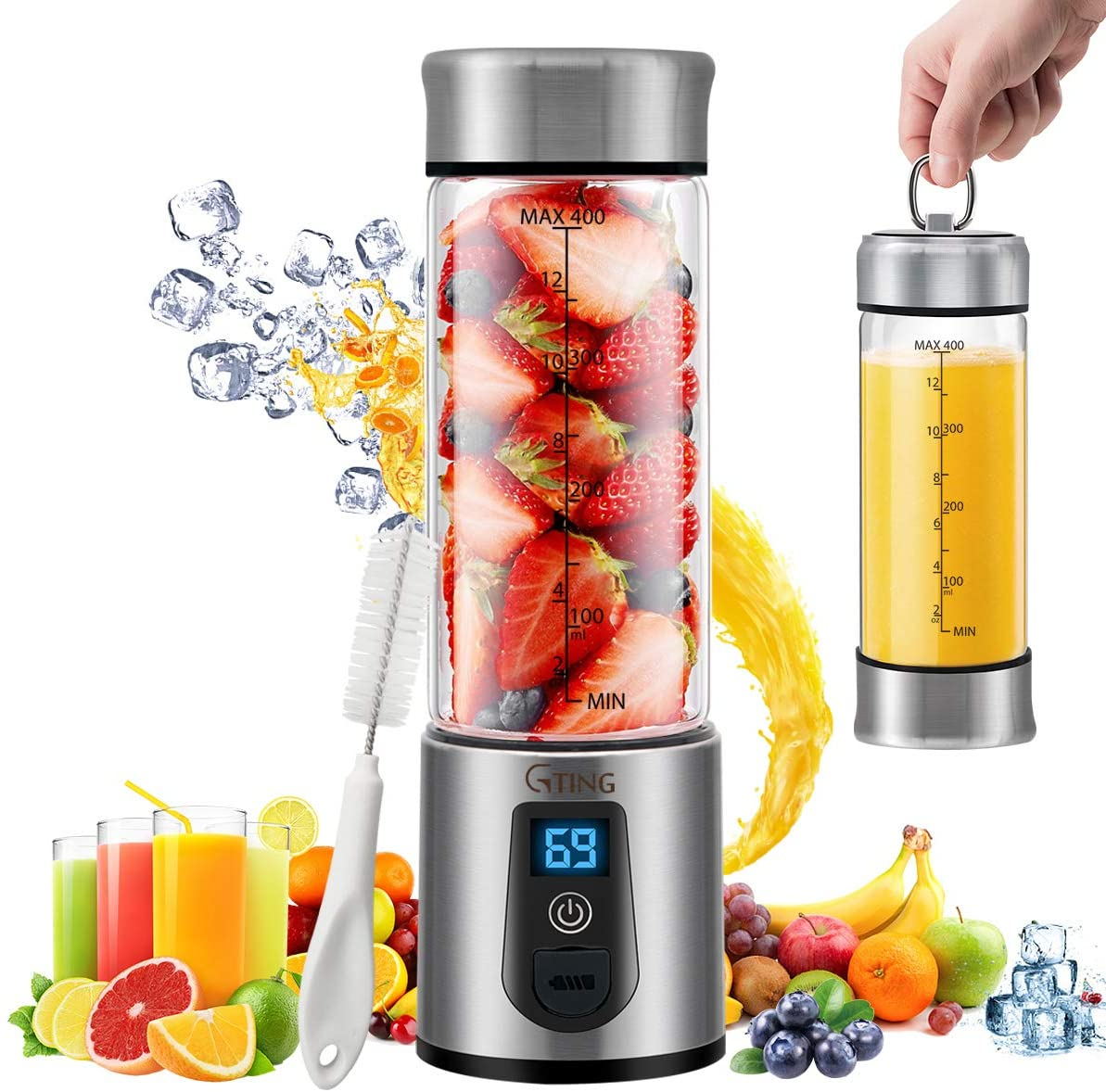 G-TING USB Rechargeable Portable Blenders