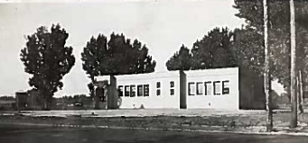 1934 4 room building that was built after fire