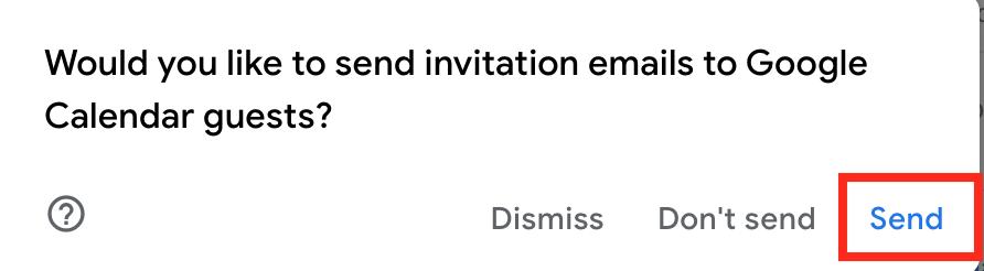 invitation for google calendar