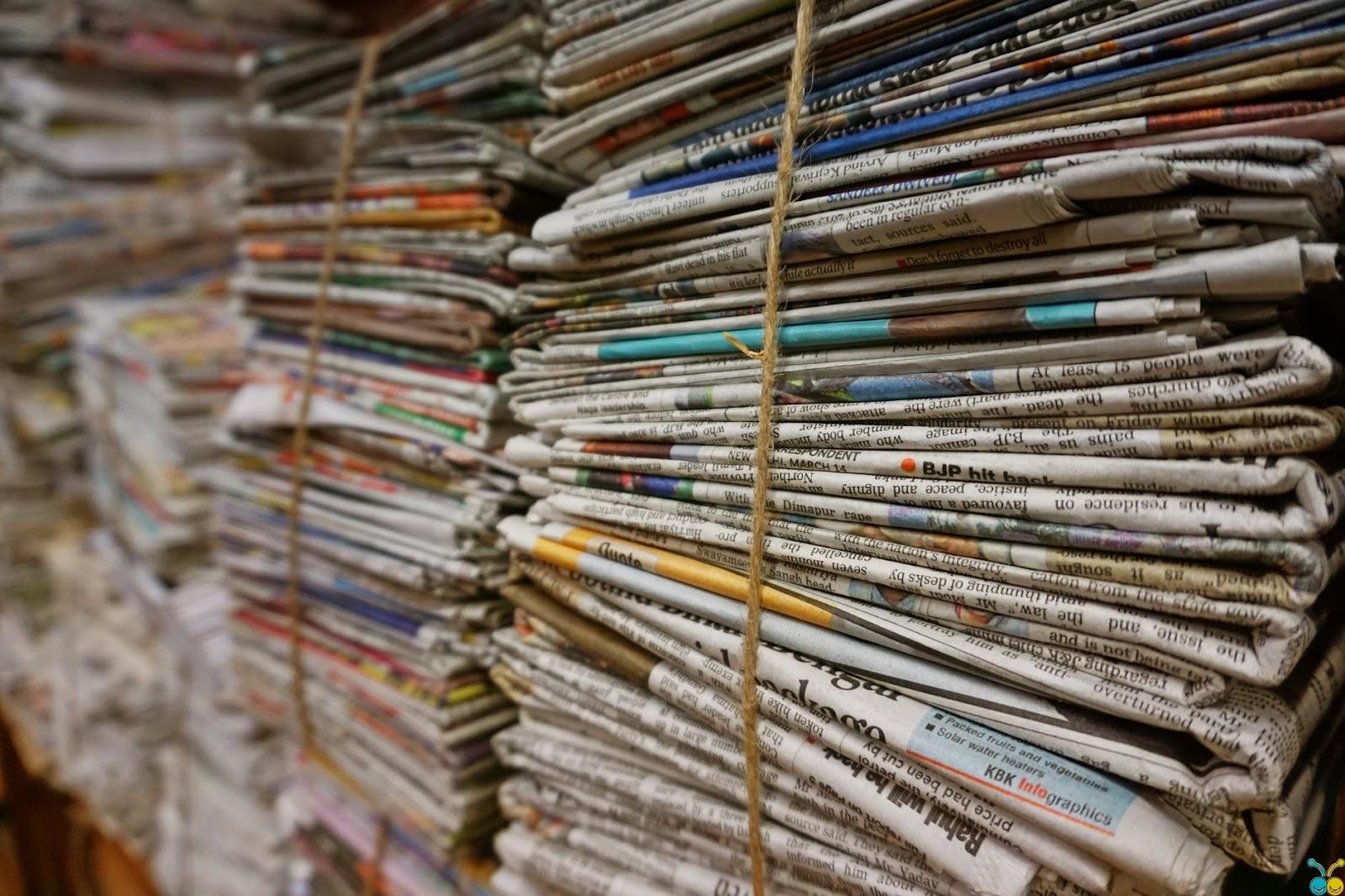 traditional newspaper model