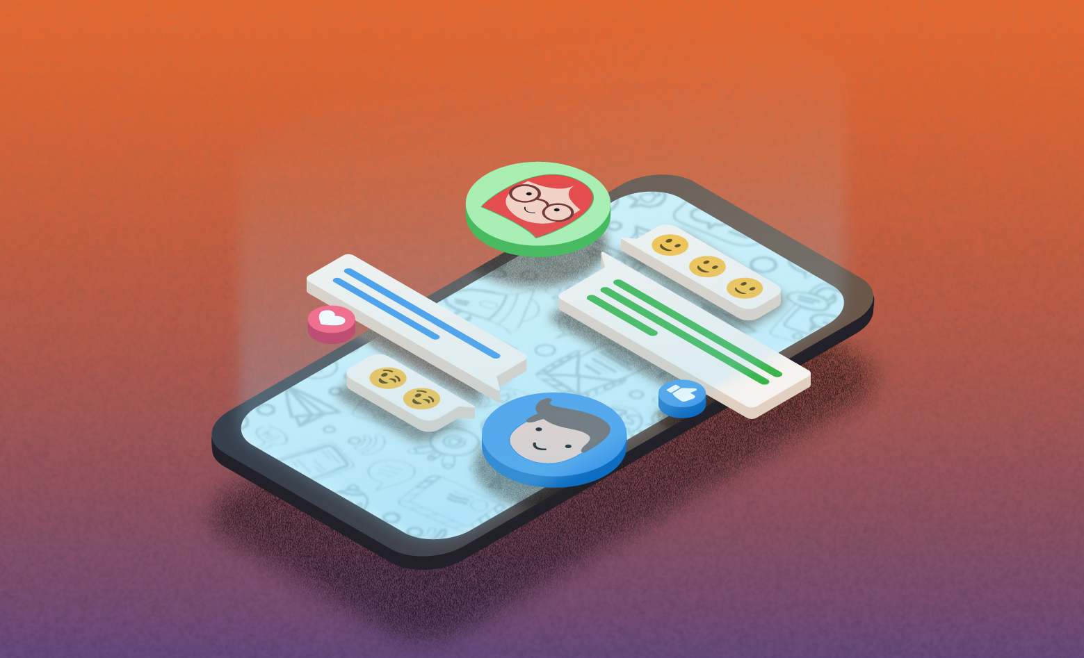 Mobile UI Microinteractions