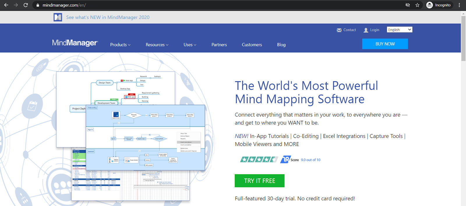 mindjet homepage