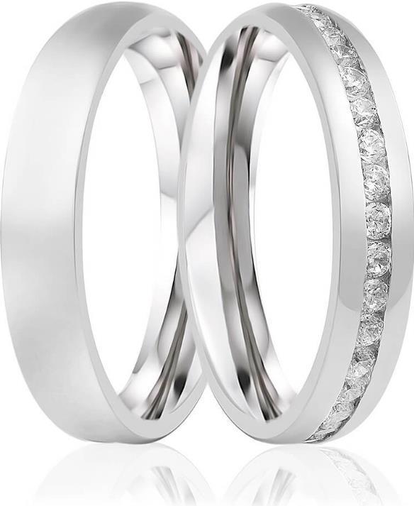 alianca de namoro de prata