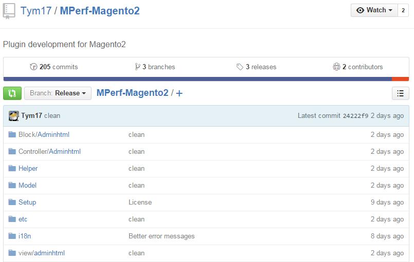 MAgento 2 plugis: MPerf-Magento2