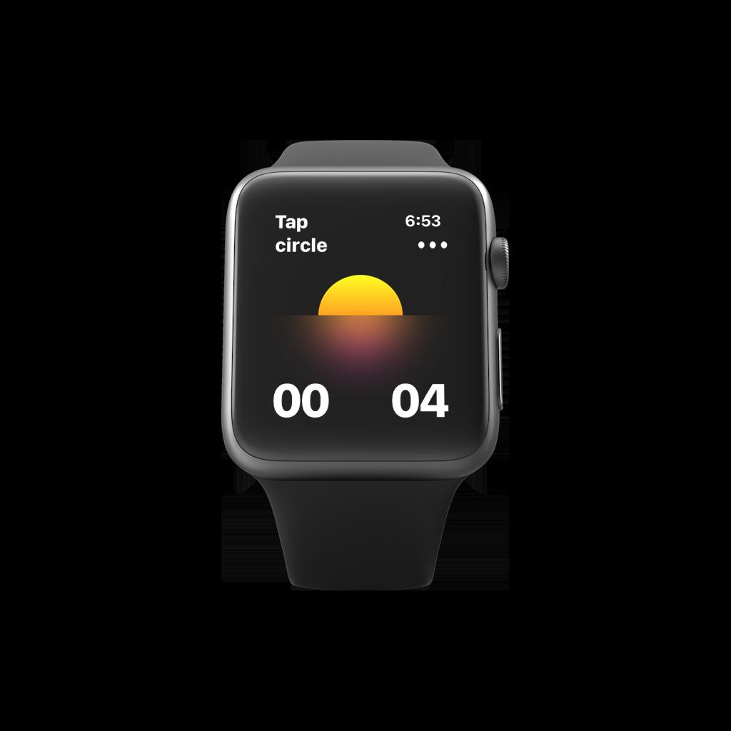 Calmaria Breathing App now on Apple Watch