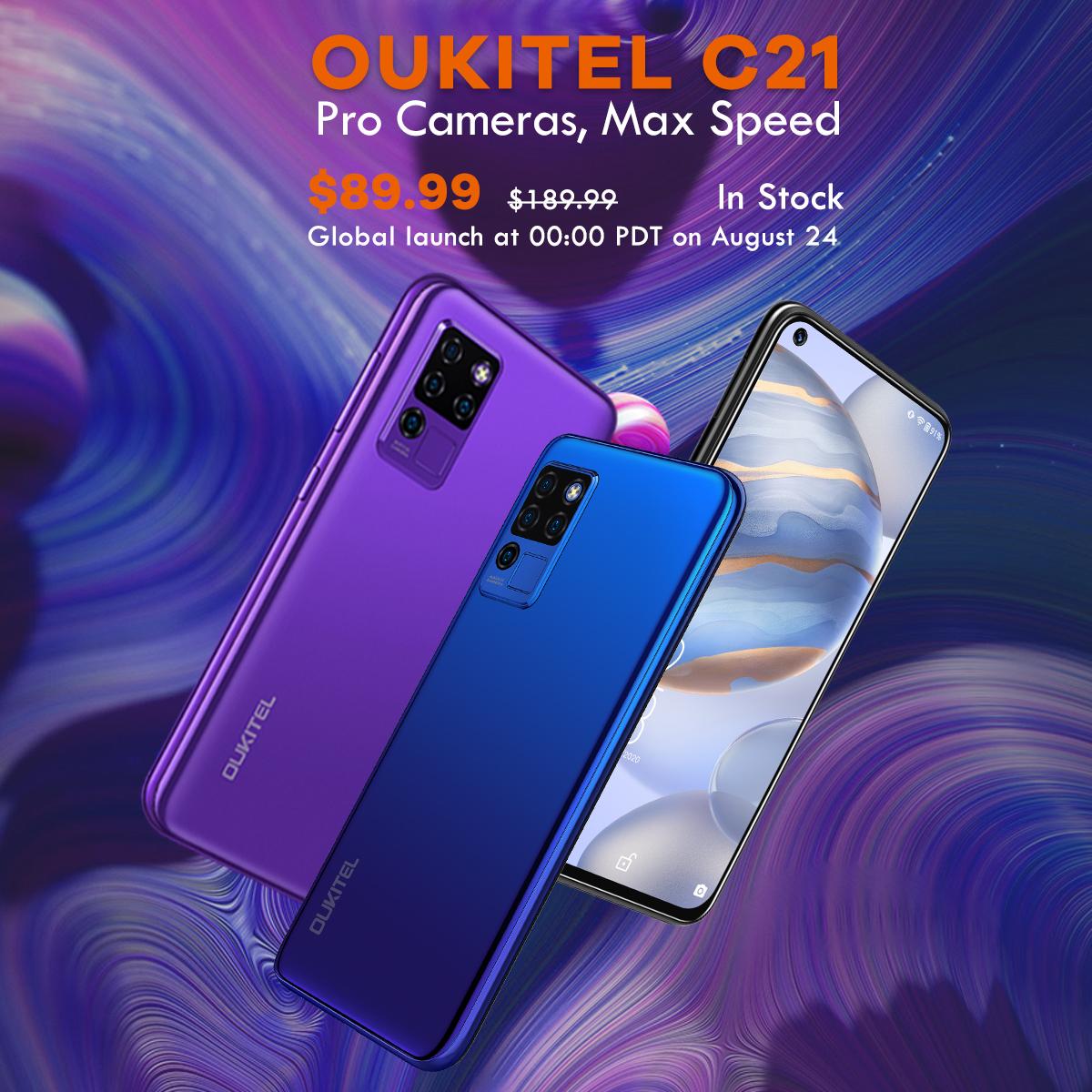 Oukitel C21