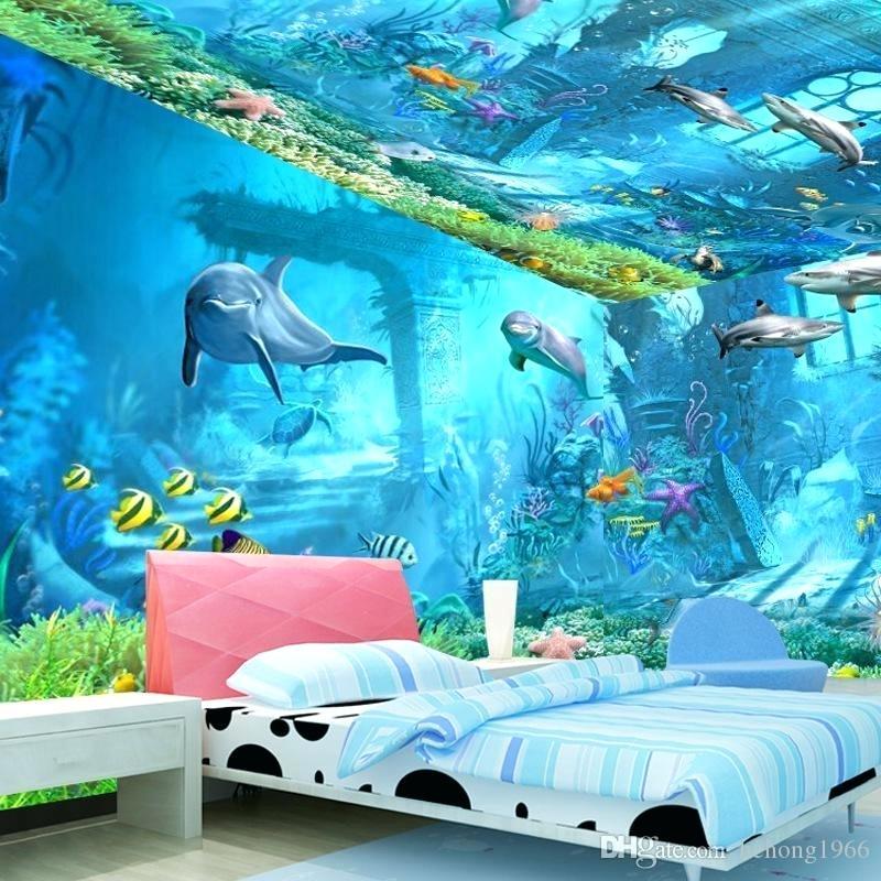 Design an Ocean-Themed Marine Wonderland Boys Bedroom Painting Ideas