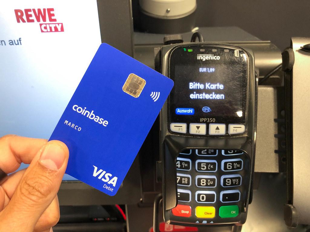 coinbase visa crypto card