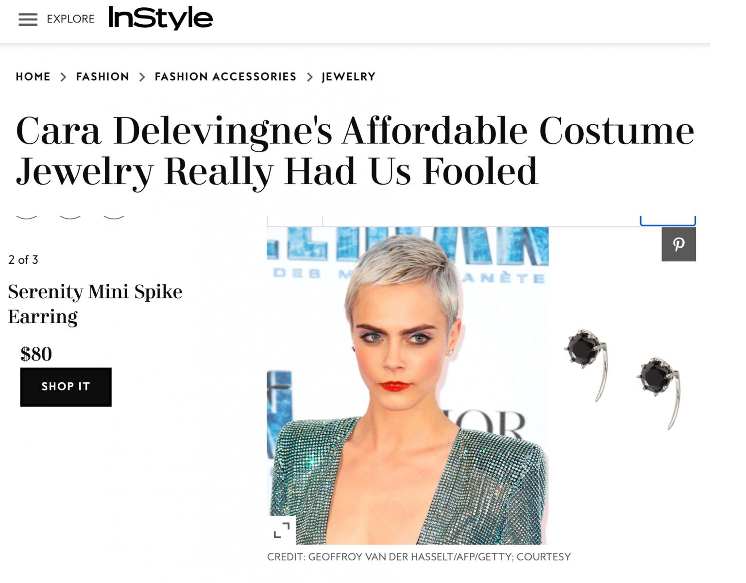 Fashion PR Example - VLIV Communications & Serenity